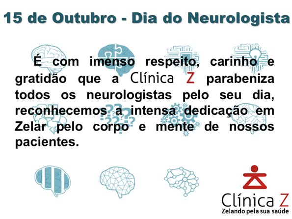 Feliz dia do Neurologista
